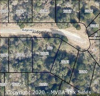 Account No. 22262 - Lot K8122, Plat K8.1, Horseshoe Bay South, City of Horseshoe Bay, Burnet County, Texas ::::: Suit No. 45802