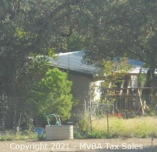 Account No. 117291 - A Manufactured Home Only, Label# TEX0292630/TEX0292631; located on 6.256 Acres, more or less out of Abstract 191 of the Elias Flint Survey 76, Comal County, Texas ::::: Suit No. T-9656B ::::: Approximate Property Address: Heimer Lange Road